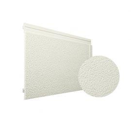 Bardage PVC cellulaire Multipaneel finition enduit 250 x 18 mm Crème 2.4 ml
