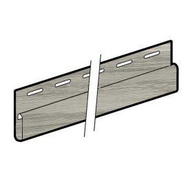 Profil en J bande de finition 23 x 39 mm Chêne blanc