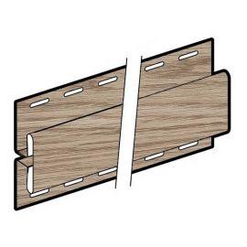 Profil en H 76 x 42 mm Chêne des marais