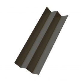 Profil d'angle int en Alu Laqué Gris anthracite