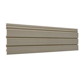 Bardage PVC cellulaire Élégance à claire voie 250 x 22.5 mm Camel