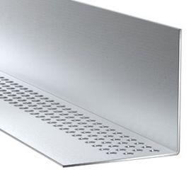 Profil de ventilation aluminium pour HardiePlank
