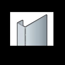 Profil de raccord Click en aluminium coloris Vanille