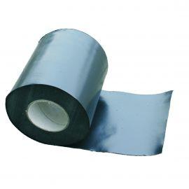 Bande d'arase polyéthylène 0.3 x 250 mm noir sablé