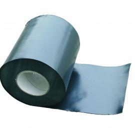 Bande d'arase polyéthylène 0.3 x 300 mm noir sablé