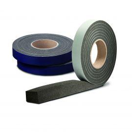 Ruban pré-comprimé largeur 20 mm fente de 4-7 mm noir