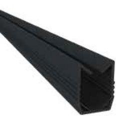Profilé de finition bas 22 x 2470 x 18 mm couleur noir