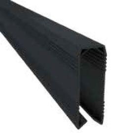 Profilé de finition haut 49 x 2470 x 18 mm couleur noir