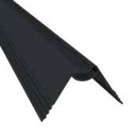 Profilé de fixation en V petit 36 x 2470 x 20 mm couleur brun