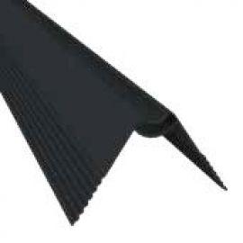 Profilé de fixation en V grand 44 x 2470 x 26 mm couleur noir