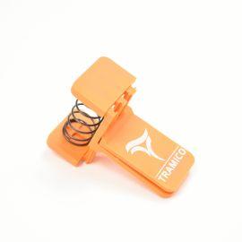 Pince Compriband orange pour conservation des rouleaux après ouverture