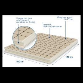 Panneau isolant pour sols et planchers 1200 x 1000 x 120