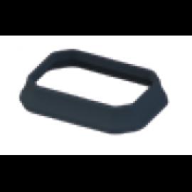 Embase pour poteau 90x60 mm laqué gris anthracite granité 7016