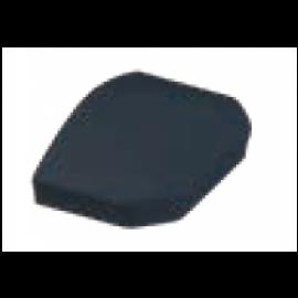 Embout poteau 60x40 mm laqué gris anthracite granité 7016
