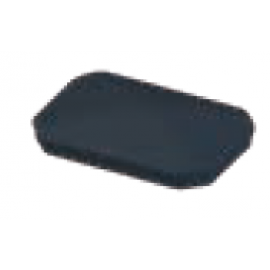 Embout poteau 90x60 mm laqué gris anthracite granité 7016