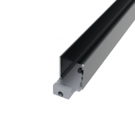 Lisse haute/basse alu 25 x 60 x 1750 mm + connecteurs 7016