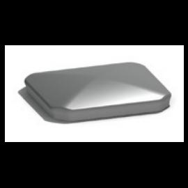 Bouchon pour poteau 90 x 90 PA090 gris teinté masse 7042