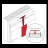 Visuel Profil de Jonction en 2 parties Kerrafront® Caramel