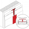 Visuel Profil de Jonction en 2 parties Kerrafront® Blanc
