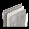Visuel Revêtement Cellulaire Kerradeco® 1350 x 295 x 9 mm Loft Concrete
