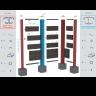 Visuel Kit Poteau de Connexion Twinson® Argent Max 2,35 m