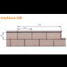 Visuel Bardage PVC Vinystone® Design Aspect Pierre Granit - 6 x 1.20 ml
