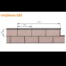 Visuel Bardage PVC Vinystone® 400 Aspect Pierre Bordeaux