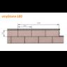 Visuel Bardage PVC Vinystone® 400 Ravenna - 6 x 1.20 ml