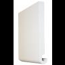 Visuel Planche de rive PVC Cellulaire Forme arrondie 225 x 16 mm Blanc