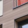 Visuel Bardage PVC Composite Twinson® Brun écorce