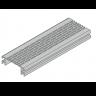 Visuel Profil de Ventilation 67,75 x 28 mm Anodisé Argent