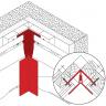 Visuel Profil d'angle Kerrafront® Crème