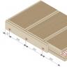 Visuel Plinthe 77,6 x 9,6 mm pour Terrasse Twinson Gris galet
