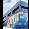 Visuel Panneau de façade HPL Fundermax® 2800 x 1300 x 6 mm Blanc