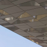 Visuel Panneau de façade HPL Fundermax® 2800 x 1300 x 8 mm Gris galet