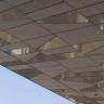 Visuel Panneau de façade HPL Fundermax® 4100 x 1854 x 8 mm Gris galet