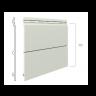 Visuel Bardage Kerrafront® Modern Wood Connex Gris quartz 2.95 ml