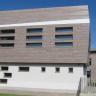 Visuel Panneau de façade HPL Fundermax® 2800 x 1854 x 8 mm Gris anthracite