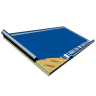 Visuel Panneau rigide avec écran de sous toiture HPV 2400 x 1200 x 100 mm - 1 pièce = 2.88 m²