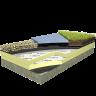 Visuel Plaque isolante en mousse PIR 600 x 1200 x 80 sous protection lourde