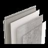 Visuel Revêtement Cellulaire Kerradeco® 1350 x 295 x 9 mm Stone Grey